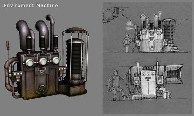 Biosgock ранние концепты - Изображение 5