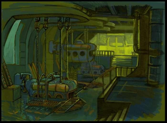 Biosgock ранние концепты - Изображение 6