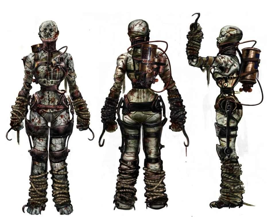 Biosgock ранние концепты - Изображение 10