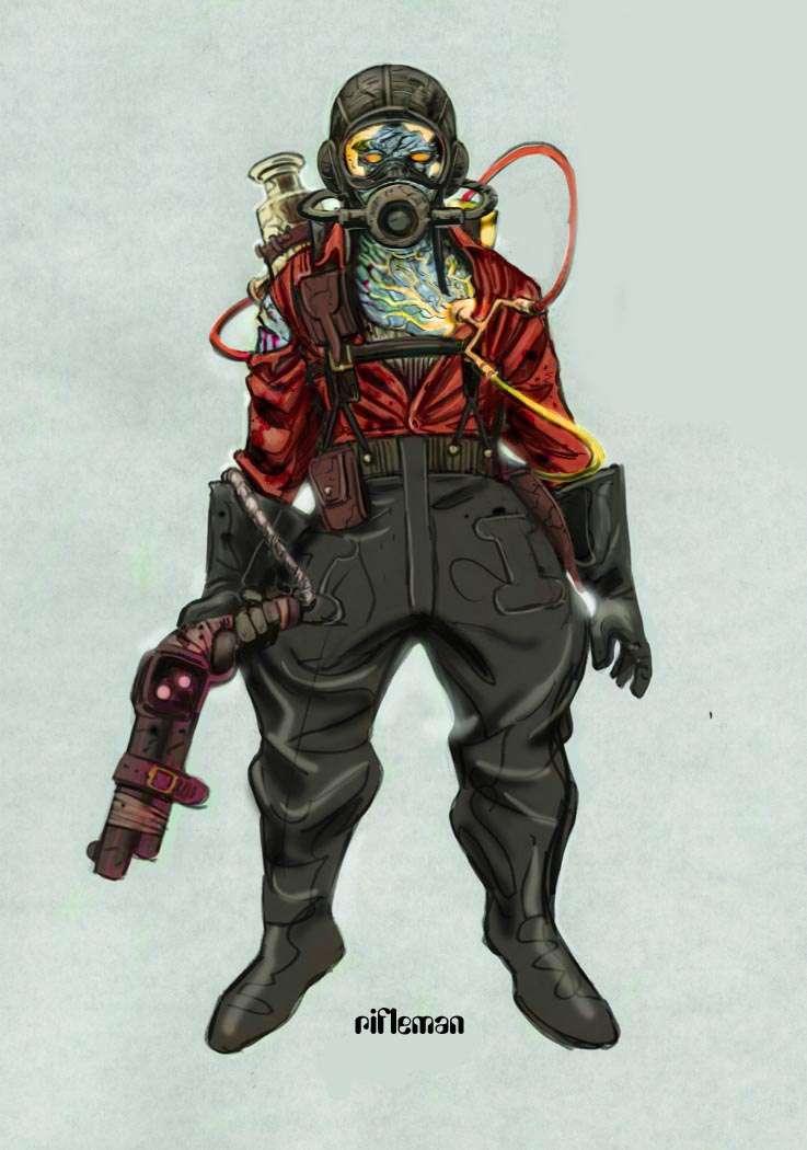 Biosgock ранние концепты - Изображение 9