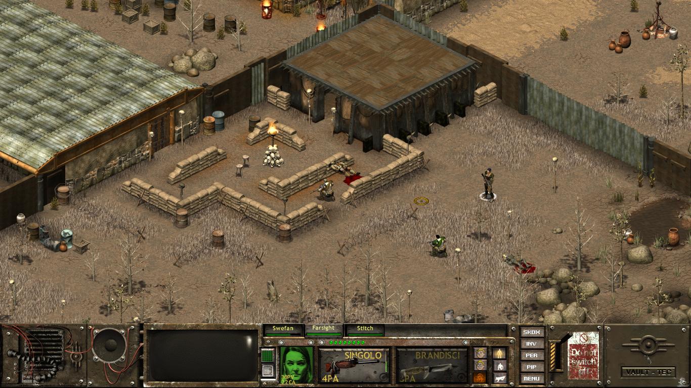 История серии игр Fallout - Раньше было лучше? Fallout Tactics